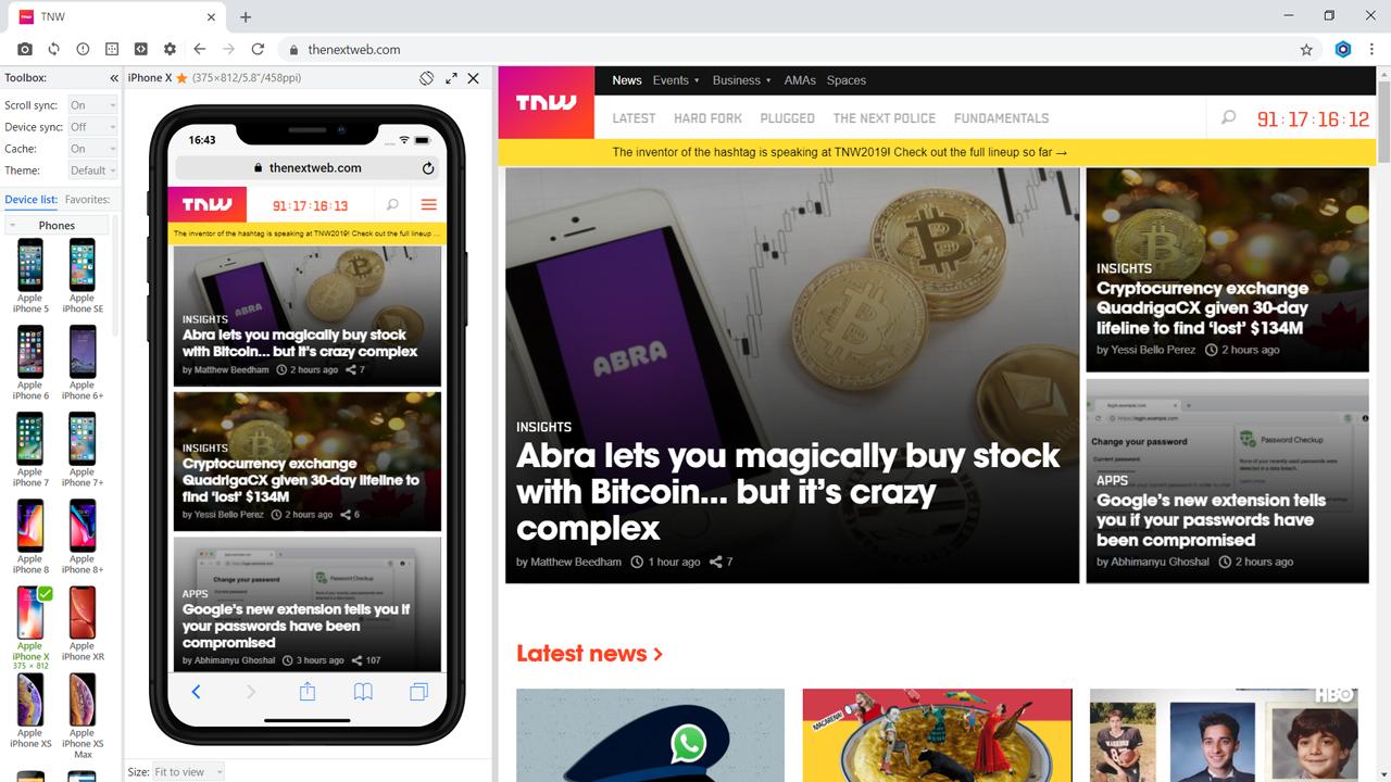 Blisk browser version 11